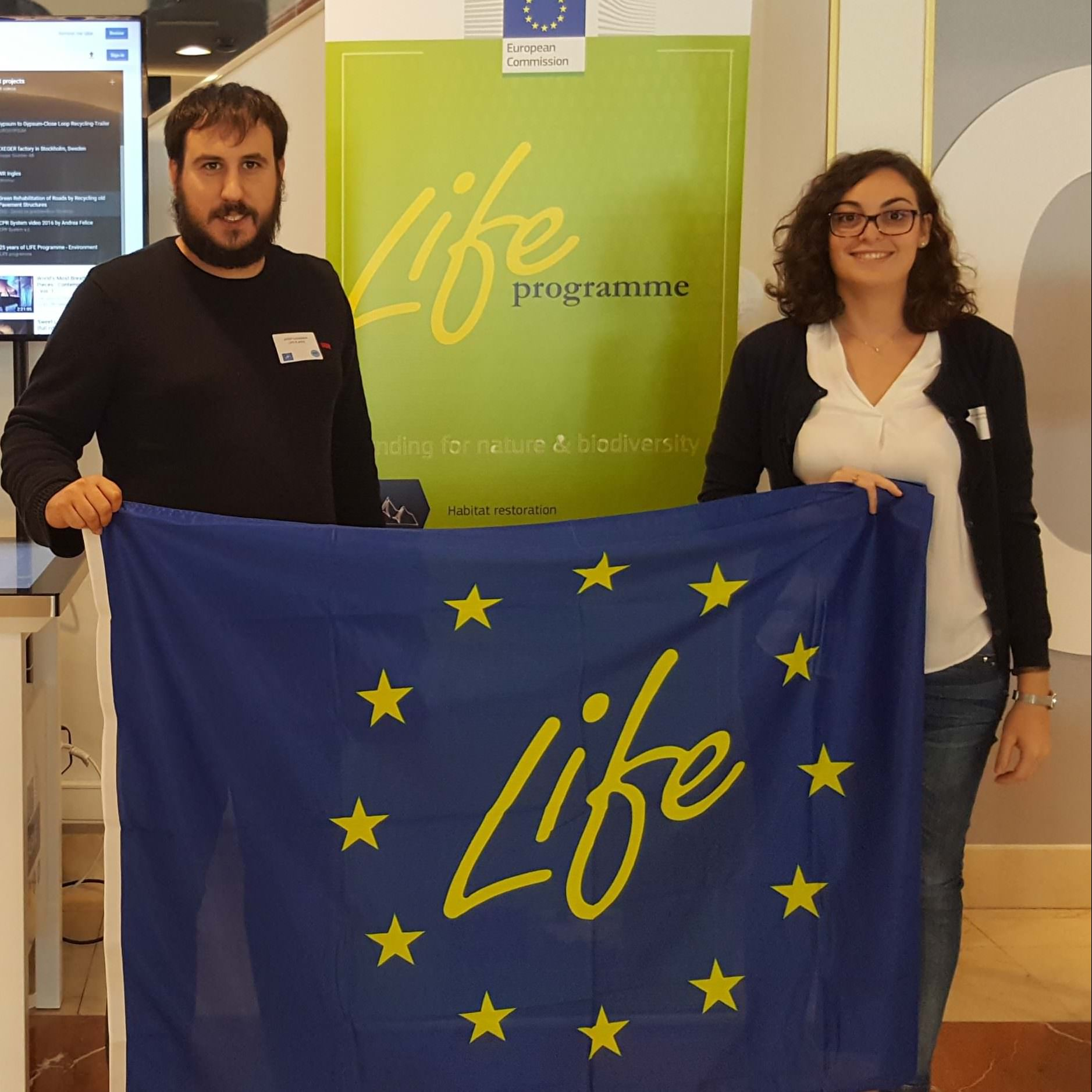 LIFE-FLAREX highlighted as best project on policy impact at LIFE16 Kick-Off meeting