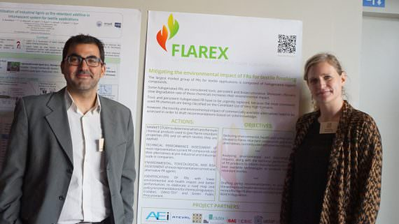 "LIFE-FLAREX partners LEITAT and CENTEXBEL were present at the third European conference on ""Fire-safe Textiles and Plastics"""