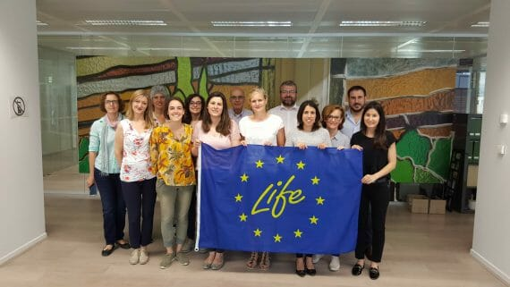 LIFE-FLAREX holds its second monitoring meeting in Brussels