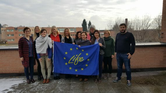 The LIFE-FLAREX team meets in Biella
