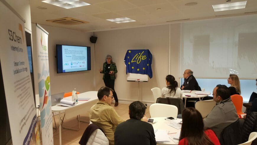 First LIFE-FLAREX workshop in Catalonia gathered 40 stakeholders to promote innovation and sustainability in the textile sector