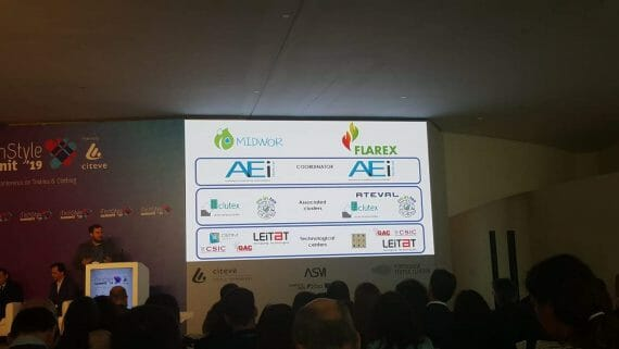 LIFE-FLAREX presented during the iTechStyle summit 2019 in Porto