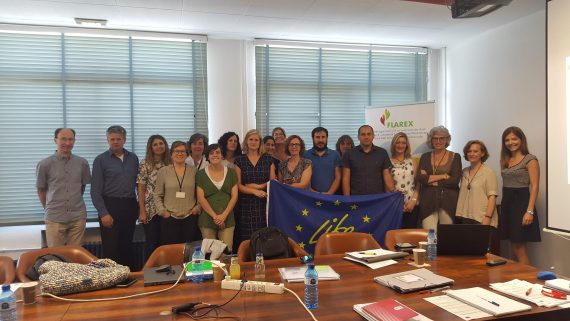 LIFE-FLAREX held the fifth project meeting in Barcelona to assess safer flame retardants for the textile industry
