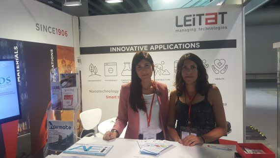 LIFE-FLAREX participated at ITMA 2019 in Barcelona