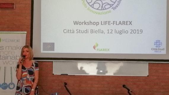LIFE-FLAREX WORKSHOP AT CITTÀ STUDI BIELLA:  15 COMPANIES AT THE WORKSHOP