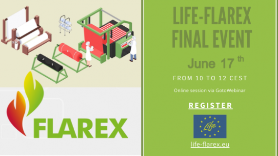 LIFE-FLAREX Final event! Registration open!