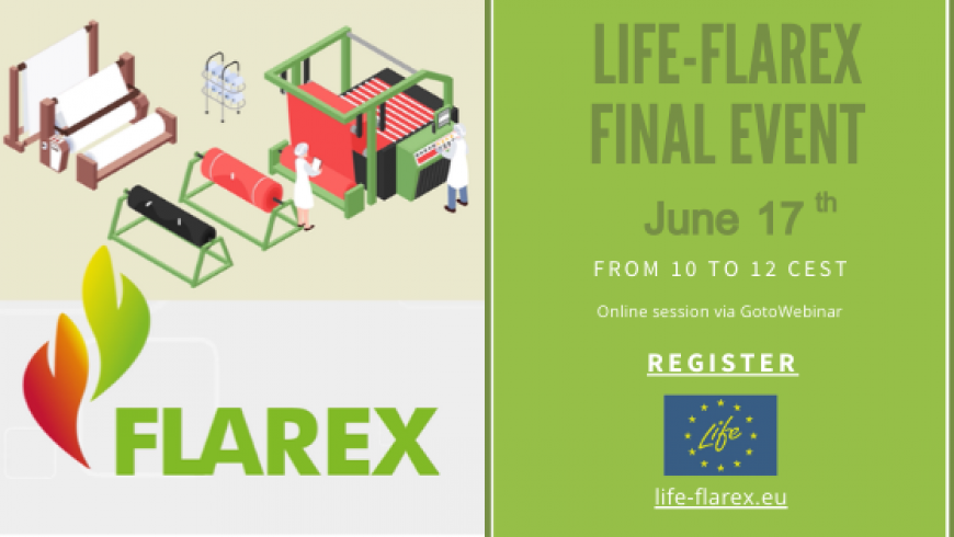 LIFE-FLAREX Final event! Registration open!