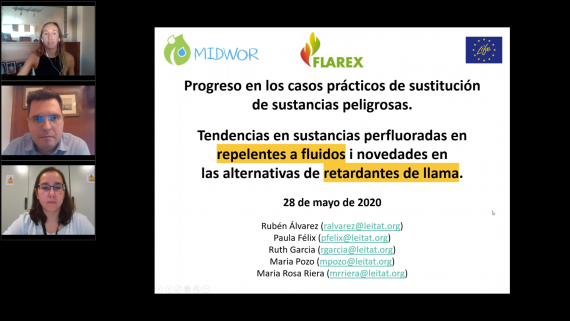 Successful LIFE-FLAREX webinar with more than 200 participants